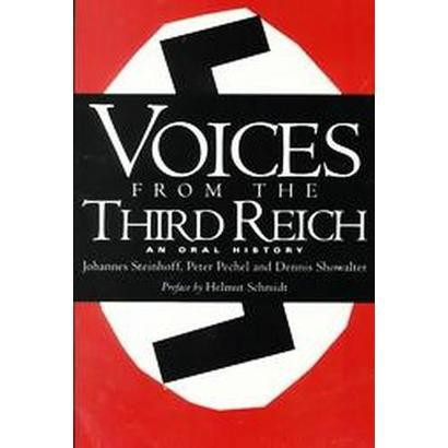 Voices from the Third Reich (Paperback)