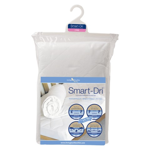 Lolli Living Baby Smart-Dri Waterproof Mattress Protector - Crib