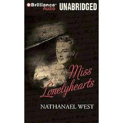 Miss Lonelyhearts (Unabridged) (Compact Disc)