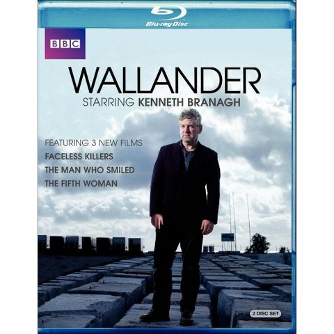 Wallander: Faceless Killers/The Man Who Smiled/The Fifth Woman (2 Discs) (Blu-ray) (Widescreen)