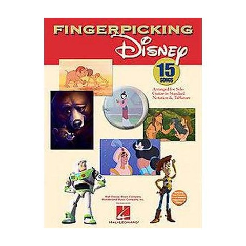 Fingerpicking Disney (Paperback)