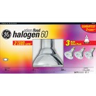 GE 60 Watts BR30 Flood Halogen - 3 Pack