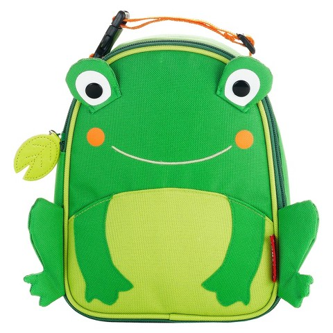 Skip Hop Zoo Lunchie Kids and Toddler Insulated Lunch Bag Frog