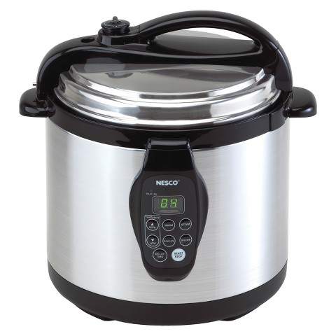 Nesco Digital Pressure Cooker - Black (6 Liter)
