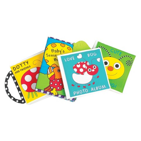 Sassy Baby's First Books - Set of 4