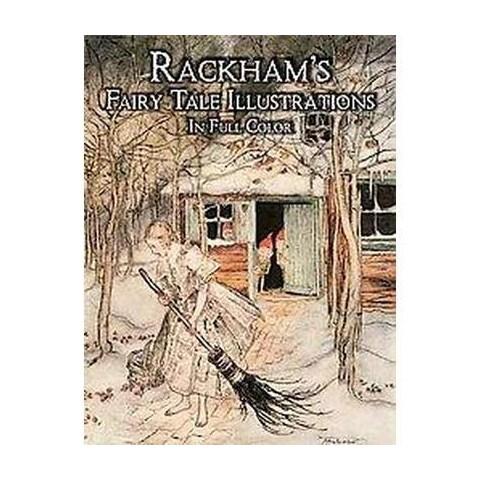 Rackham's Fairy Tale Illustrations in Full Color (Paperback)