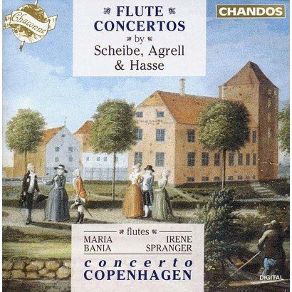 Flute Concertos by Scheibe, Agrell & Hasse