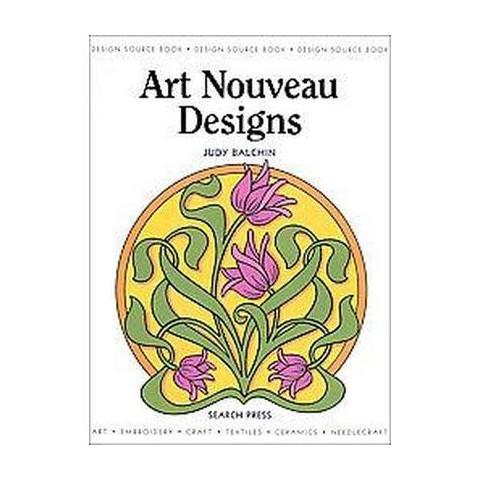 Art Nouveau Designs (Paperback)