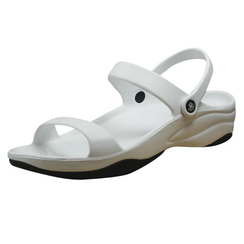 Womens Dawgs 3-Strap Sandals