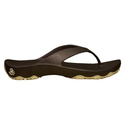Womens Dawgs Sandals with Rubber Soles