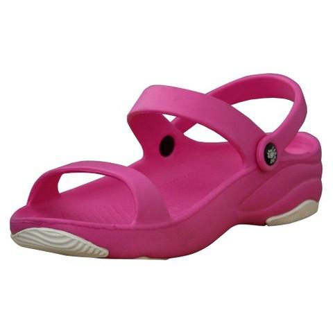 Womens Dawgs 3-Strap Sandals