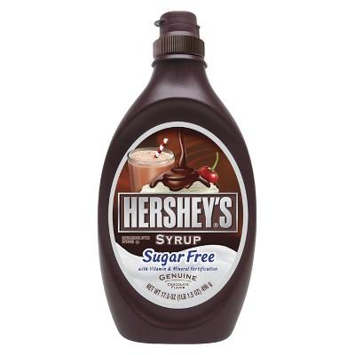 Hershey's Sugar Free Chocolate Syrup 17 oz