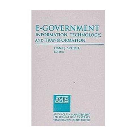E-government (Hardcover)