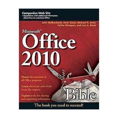Microsoft Office 2010 Bible (Paperback)