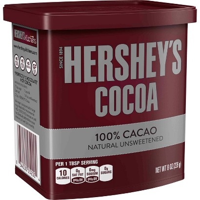 Hershey's Natural Unsweetened Cocoa 8 oz