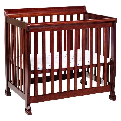 DaVinci Kalani 2-in-1 Mini Crib and Twin Bed - Cherry