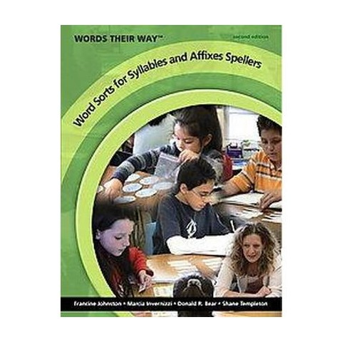 Word Sorts for Syllables and Affixes Spe ( Words Their Way) (Paperback)