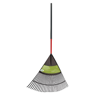 NatureCraft 30 Poly Leaf Rake with Cushioned Grip