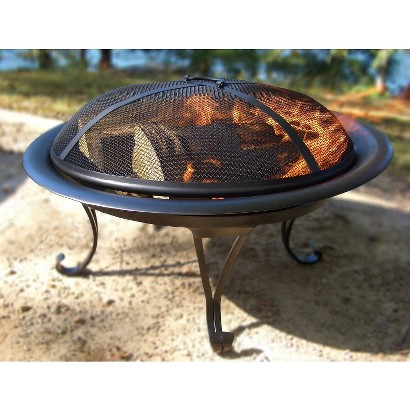 Threshold™ Round Folding Fire Pit