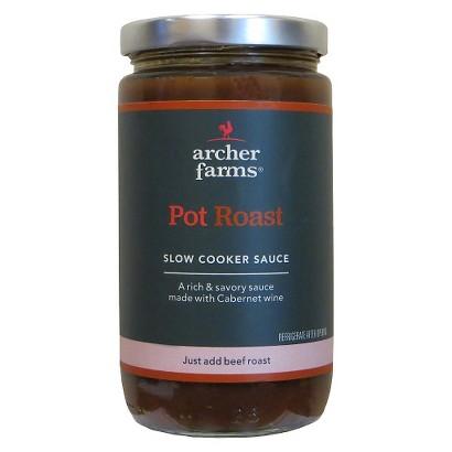 Archer Farms Pot Roast Slow Cooke Sauce 16 oz
