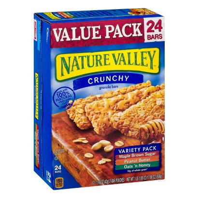 Nature Valley Crunchy Variety Pack Granola Bars 24 ct
