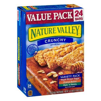 Nature Valley Crunchy Variety Pack Granola Bars 24 pk