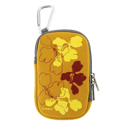 Sumdex NUC-862HP DigiPouch for iPod/iPhone/iTouch/Blackberry/Smart Phone/Digital Camera (Pumpkin)