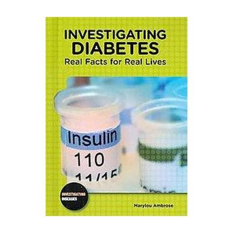 Investigating Diabetes (Hardcover)