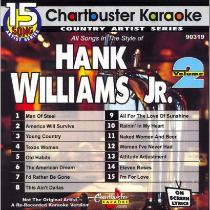 Karaoke: Hank Willams Jr, Vol. 2