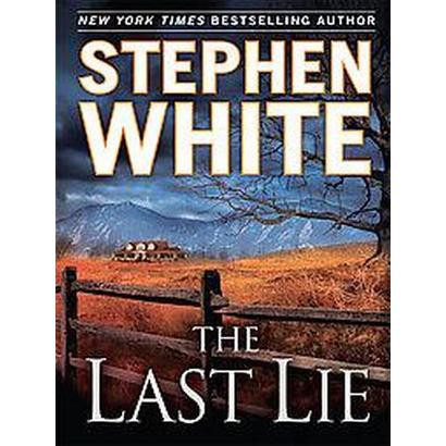 The Last Lie (Large Print) (Hardcover)