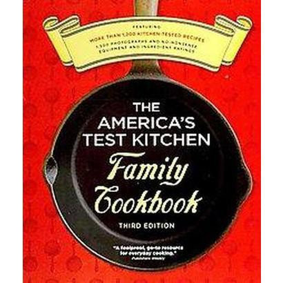 THE AMERICA'S TEST KITCHEN FAMILY COOKBOOK (INDEXED) (SPIRAL)