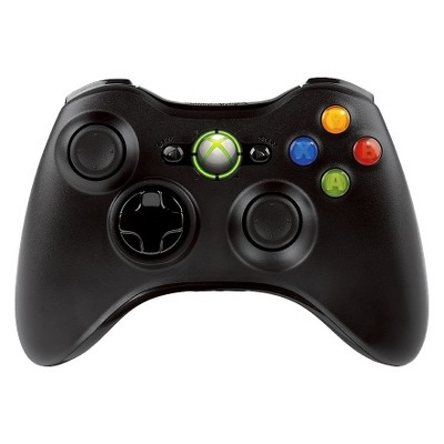 Xbox 360 Wireless Contoller - Black (Xbox 360)
