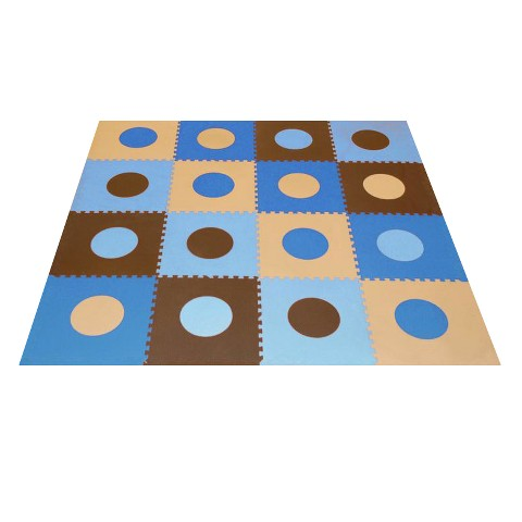 Tadpoles Playmat Set, Blue/Brown
