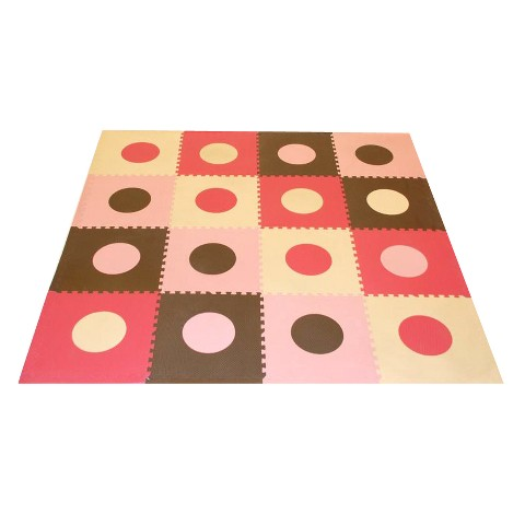 Tadpoles Playmat Set, Pink/Brown