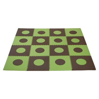 Tadpoles Playmat Set, Green/Brown