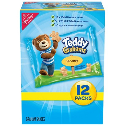 Teddy Grahams Variety Pack 12 pk