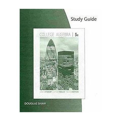 College Algebra (Study Guide) (Paperback)