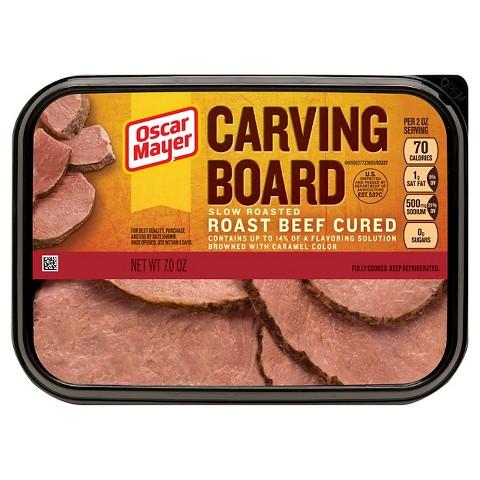 Carving Board Slow Roasted Roast Beef 7oz