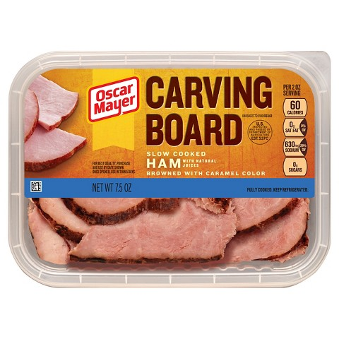Oscar Mayer Carving Board Cooked Ham 7.5 oz