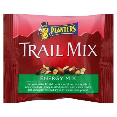 Planters Energy Mix Trail Mix 1.5 oz 5 pk