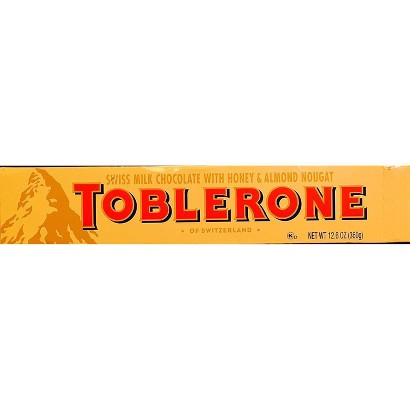 Toblerone Milk Chocolate 14 oz