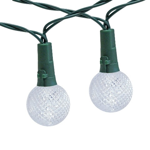 Solar String Lights Target : 30Lt Solar Globe String Lights - Threshold : Target