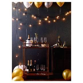 25ct Clear Globe Lights - Room Essentials : Target