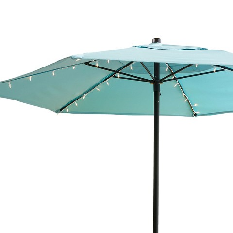 String Lights On Umbrella : Room Essentials 54Lt Umbrella Lights : Target