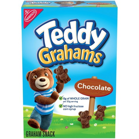 Teddy Graham Chocolate Graham Snacks 10 oz