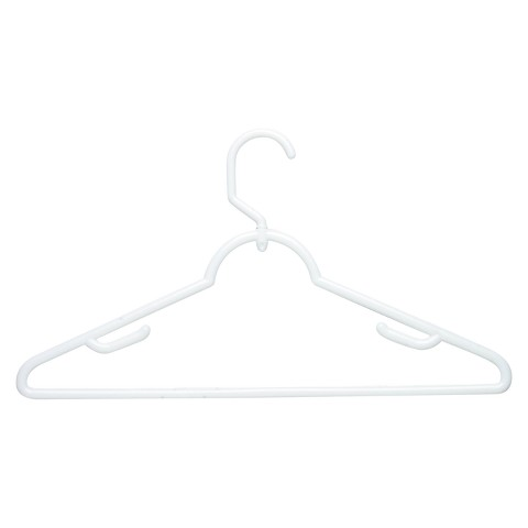 Hanger Swivel With Dress Notch 18-pk. White