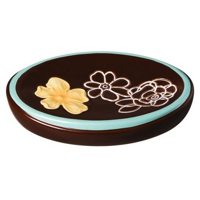 Kaleidoscope Soap Dish - Brown