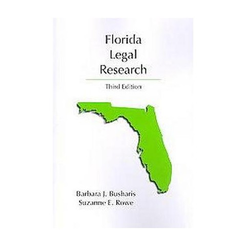Florida Legal Research (Paperback)