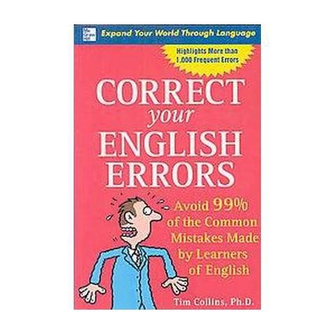 Correct Your English Errors (Paperback)