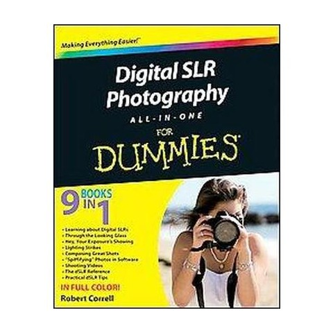 Digital SLR Photography All-in-One for Dummies (Original) (Paperback)